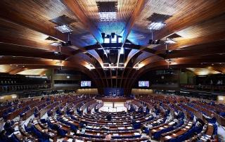 Raad van Europa, Straatsburg. Beeld Ellen Wuibaux